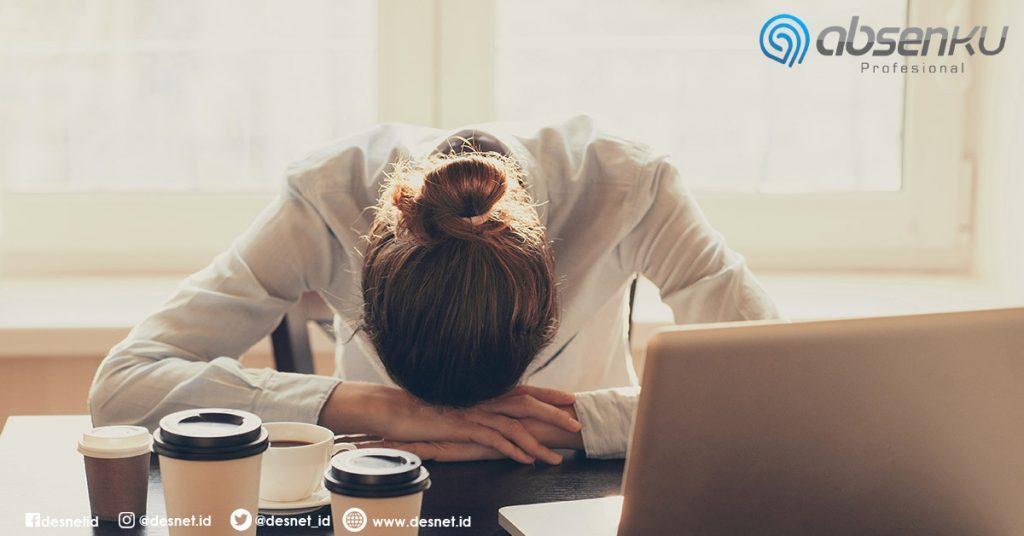 produktivitas menurun